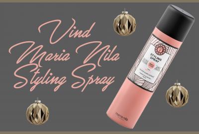 Vind en Styling Spray fra Maria Nila