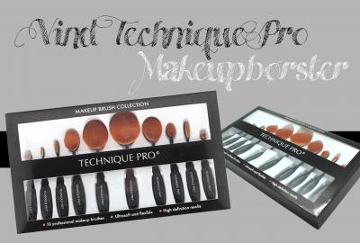 Vind ovale Technique Pro makeupbørster