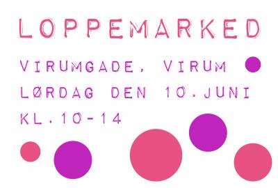 Loppemarked i Virum nu på lørdag
