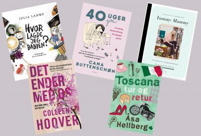 Fem bøger jeg glæder mig til at læse