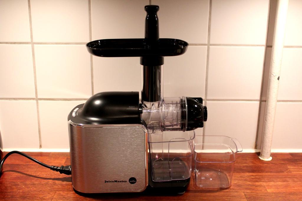 Slowjuicer Fra Wilfa : Wilfa Juicemaster juicemaskine - Lullumut - En livsstilsblog