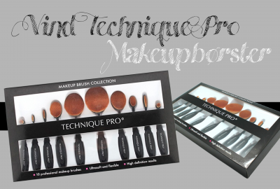 Vind ovale Technique Pro makeupbørster