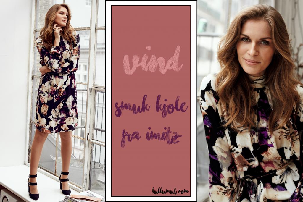 15a3ac32a71f Vind en smuk kjole fra IMITZ her på bloggen i denne uge