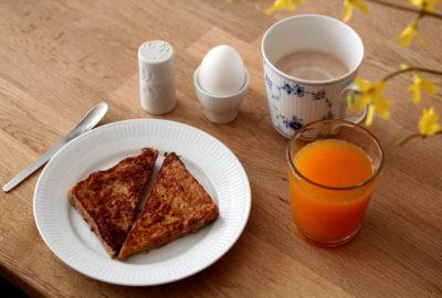 Opskrift på arme riddere - french toast